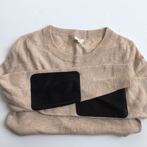 J. Crew Elbow Patch Sweater